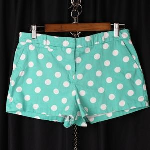 Forever 21 High Waist Polka Dot Shorts